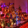 Dicken's Village at Night (kevin dooley) Tags: christmas xmas old favorite macro english television canon wow movie photography book town photo tv high interesting fantastic flickr village dynamic image very good awesome picture free award sigma superior charles pic super best special collection more most photograph creativecommons carol winner excellent much dickens incredible range better hdr exciting winning collectable stockphotography fashioned 105mm phenomenal freeforuse 40d