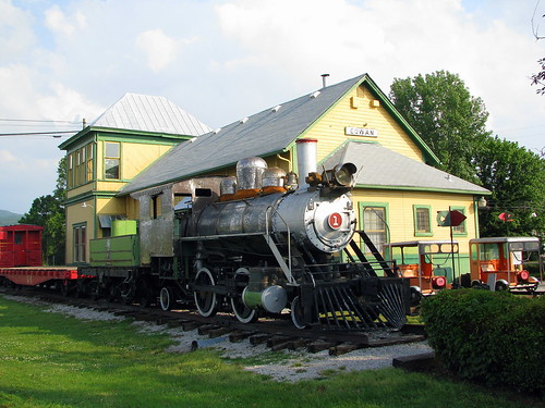 Cowan Railroad Museum: Engine & Depot