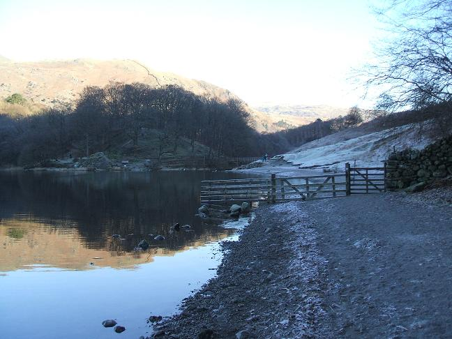 Beach at Grasmere