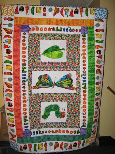 The Very Hungry Caterpillar quilt - a photo on Flickriver : the hungry caterpillar quilt - Adamdwight.com