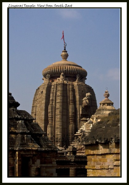 Lingaraj Temple- South-east corner