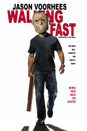 Jason Voorhees in Walking Fast