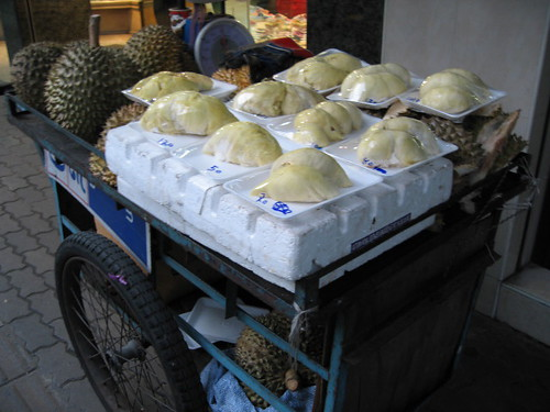 Durian Street Vendor