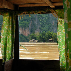 Windows of Laos (Bn) Tags: laos riverbank boattrip topf100 lon