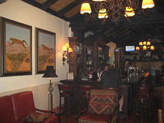 The bar inside Nixon's favorite restaurant, El Adobe. (02/15/2009)