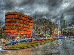 Rain in the city... (Nejdet Duzen) Tags: street city trip travel cloud building car rain turkey trkiye bina ankara hdr trafic araba bulut trafik seyahat yamur cadde ehir mywinners abigfave platinumphoto anawesomeshot colorphotoaward impressedbeauty theunforgettablepictures overtheexcellence goldstaraward