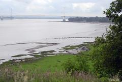 Severn River Estuary near Chepstow, Wales