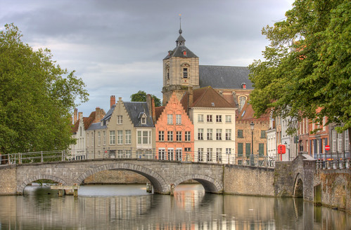 A Quiet Day in Bruges