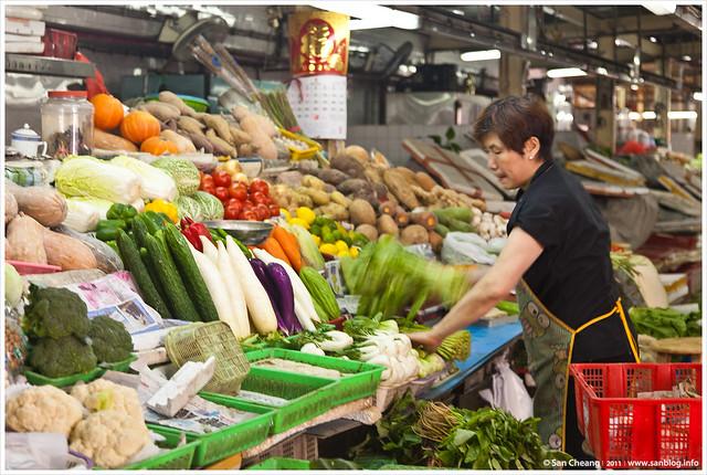 澳門紅街市 - 蔬菜類