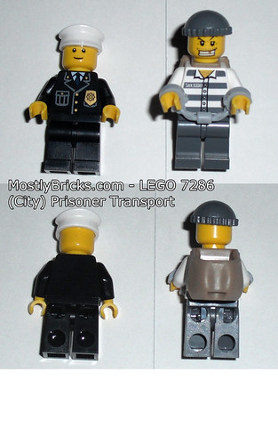 LEGO City 7286 Prisoner Transport Review