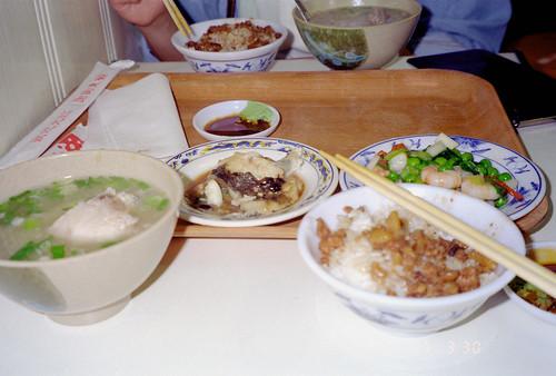 安食堂でのお昼ご飯 by Ik T