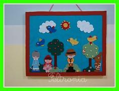 O Painel! (Feltronia by Bia Leira) Tags: feltro festa decoração painel chapeuzinhovermelho feltronia bialeira