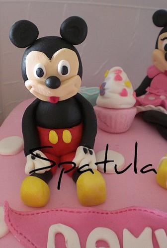 Minnie & Mickey Doğum Günü Pastası by Demetin spatulasi