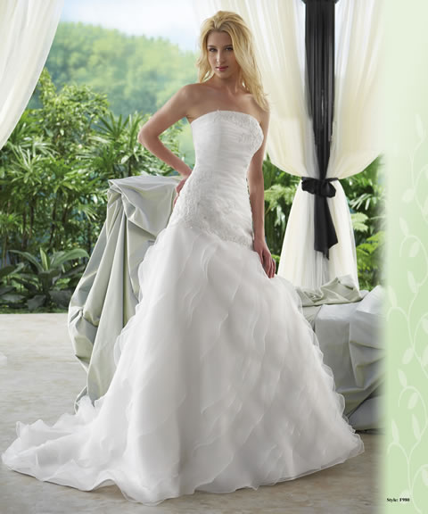 Trajes de novia baratos-980A