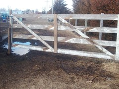 gate after