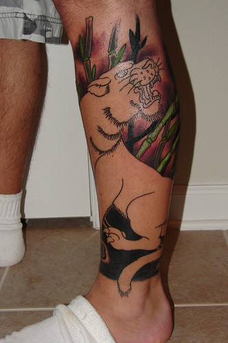 Tattoos on Leg