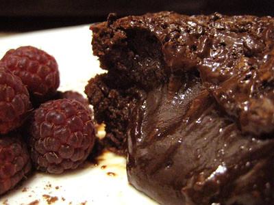 Good Eats n Sweet Treats TWD Gooey Chocolate Cakes