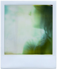The Expired Future (Kat White) Tags: selfportrait film polaroid sx70 779 expired2000 savepolaroid panpola