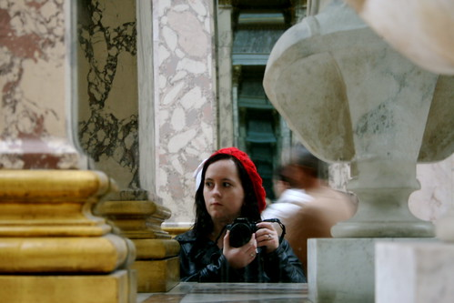 Me in the Louvre