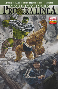 World War Hulk Primera Linea
