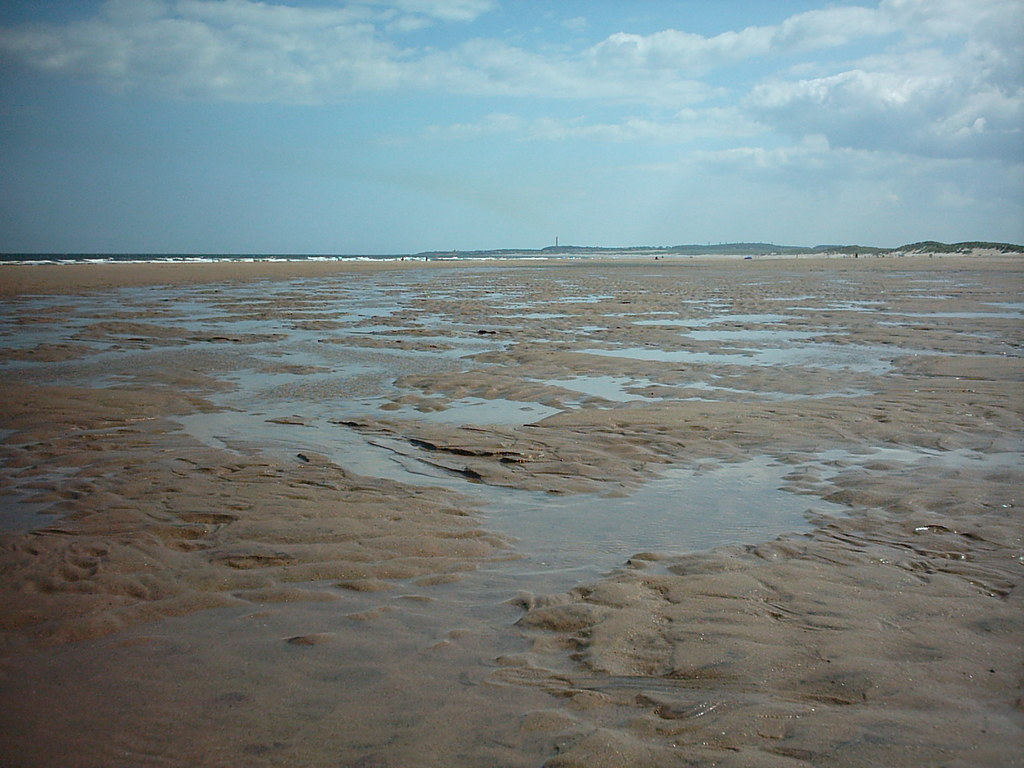 Tide out - Druridge Bay Beach - Cresswell, Northumberland