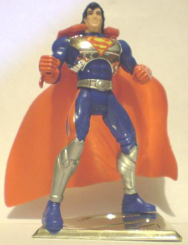 Cyber-Link Superman action figure
