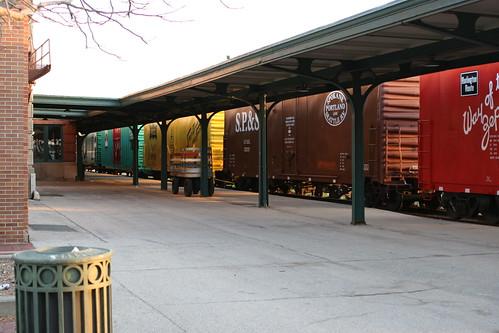 The train cars