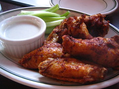 buffalo hot wings (rick) Tags: sanfrancisco food chicken restaurant wings buffalo wing spicy 2008 celery kezar