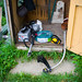Our new toys! Strimmer and a hose