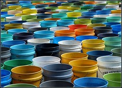 Buckets (bo mackison) Tags: color wisconsin patterns buckets madisonwisconsin wisconsinpark colorphotoaward madison365 owenconservationpark portalwisconsinorgselected portalwisconsinorg06302008