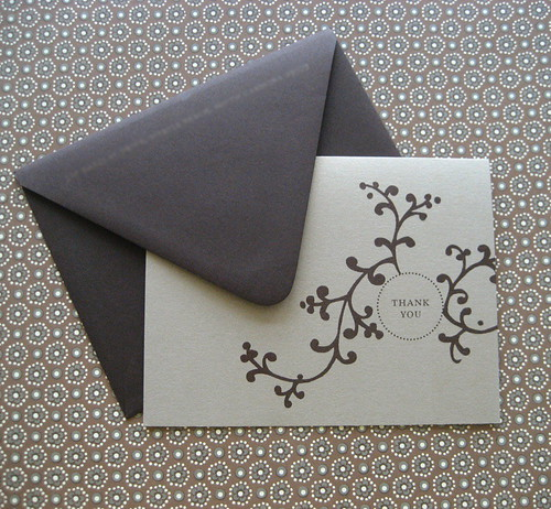 Grey branch wedding invitation design