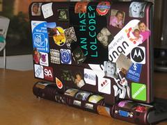 Celio Redfly... (dalelane) Tags: stickers moo ubuntu sya redfly celio mobileok lolcode moostickers celioredfly
