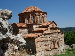Byzantine church (steven_and_haley_bach) Tags: byzantine mystras sixthday mistras greecevacation byzantineruins