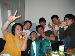Masumitsu and the Korean Krew (jrkester) Tags: japan hirosaki 2008