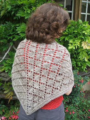 Homespun shawl