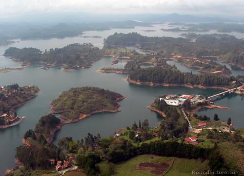 Colombia Medellin Piedra del Peñol Lake