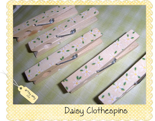 Daisy Clothespins