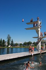 (Jeff_Werner) Tags: tower pool norway swim jump dock friend warf board dive platform grab method gjvik fastland andreasbrndhaugen gjovik