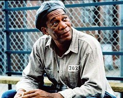 Morgan Freeman in The Shawshank Redemption (djabonillojr.2008) Tags: film movie oscar announcement africanamerican actor academyawards timrobbins morganfreeman shawshankredemption nominations bestactor 67th frankdarabont actorinaleadingrole