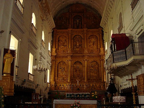 Main Altar, Se Cathedral, Goa