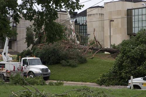K-State Campus Tornado Damage