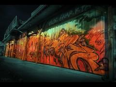 Shops (Kaj Bjurman) Tags: wallpaper toronto canada night canon eos graffiti market free kensington 2008 hdr kaj cs3 photomatix 40d bjurman