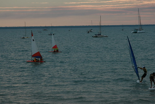 Darwin Sailing Club evening racing