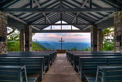 'Pretty Place' Chapel SC (The Digital Mirage) Tags: wedding sunset walter sun mountain mountains sc church clouds digital landscape geotagged photography nikon pretty open place cross air south religion arnold sigma chapel views fred carolina mirage ymca 1020mm 10000 geotag pews greenville hdr highdynamicrange weddinglocation oper openair hdri the symmes d300 prettyplace campgreenville sigma1020 walterarnold prettyplacechapel wwwthedigitalmiragecom thedigitalmiragecom sigma50th fredwsymmes fredsymmes