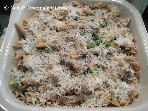 Turkey Pasta Bake: Ready to Bake