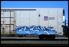 Gash (CONSTRUCTIVE DESTRUCTION) Tags: train graffiti gash boxcar armn skateallcities constructivedestruction