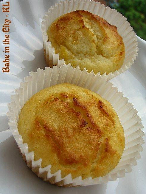 Citrus Yoghurt Muffins