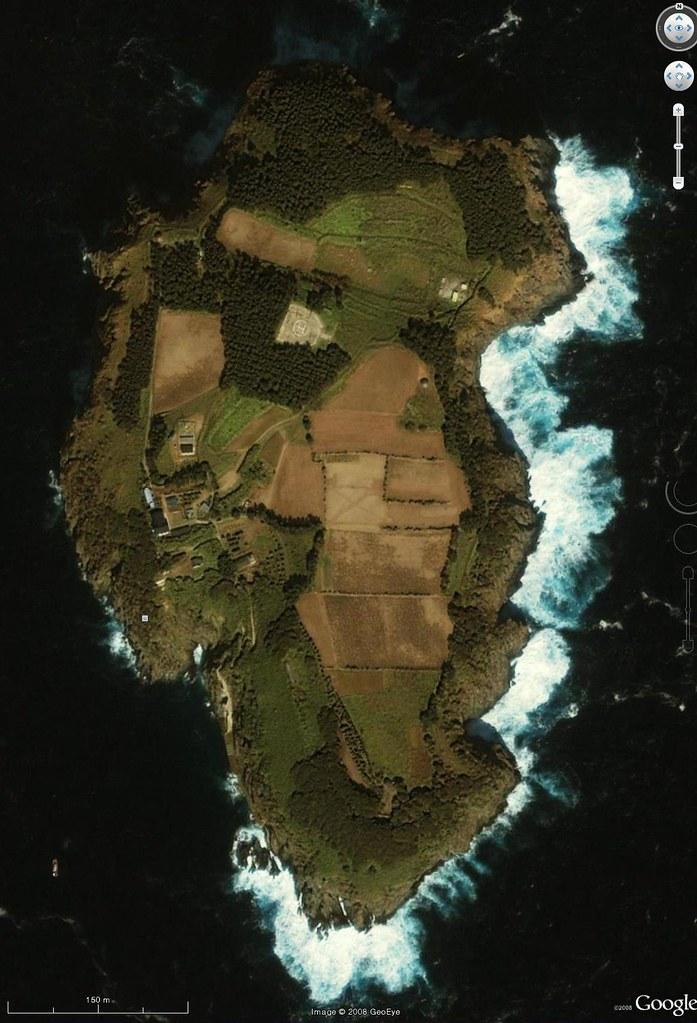 Ulleungdo's Jukdo (竹島 - 죽도)