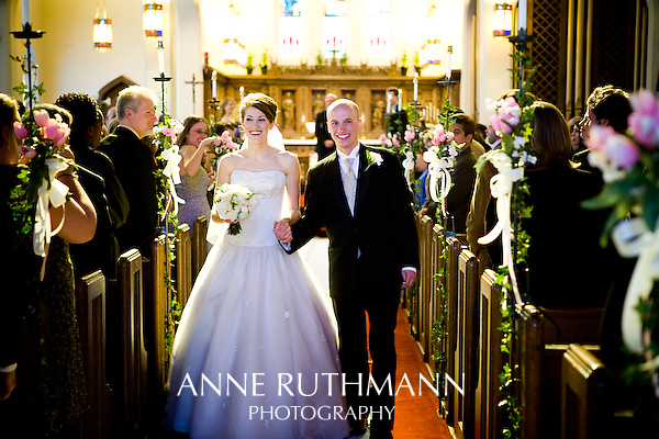 Iroquois Avenue Christ Lutheran Church wedding