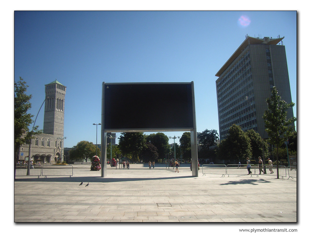 City Centre TV screen